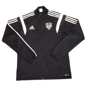 Adidas Carlsbad Climacool Full Zip Track Jacket   Men's Small S   Embroidered